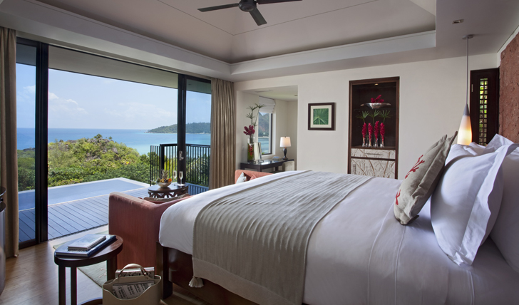 Admire the ocean views the moment you wake
