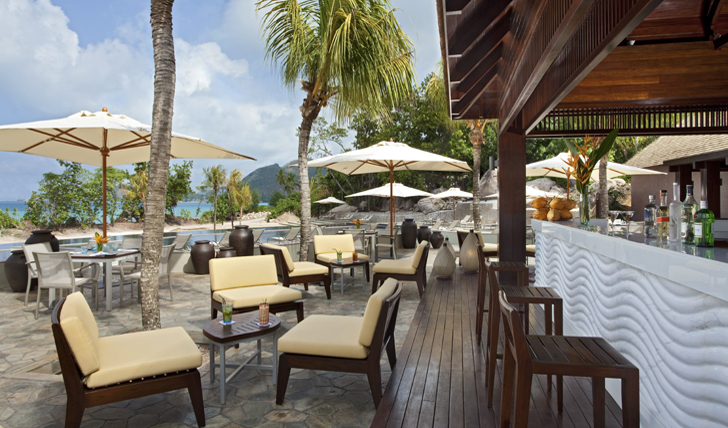 Have a relaxed lunch beside the pool