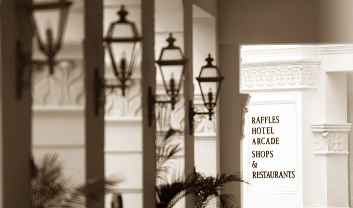 Spend a few nights in the historic Raffles Singapore