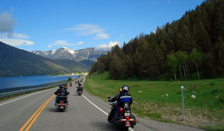 Luxury motorbike holidays in the USA