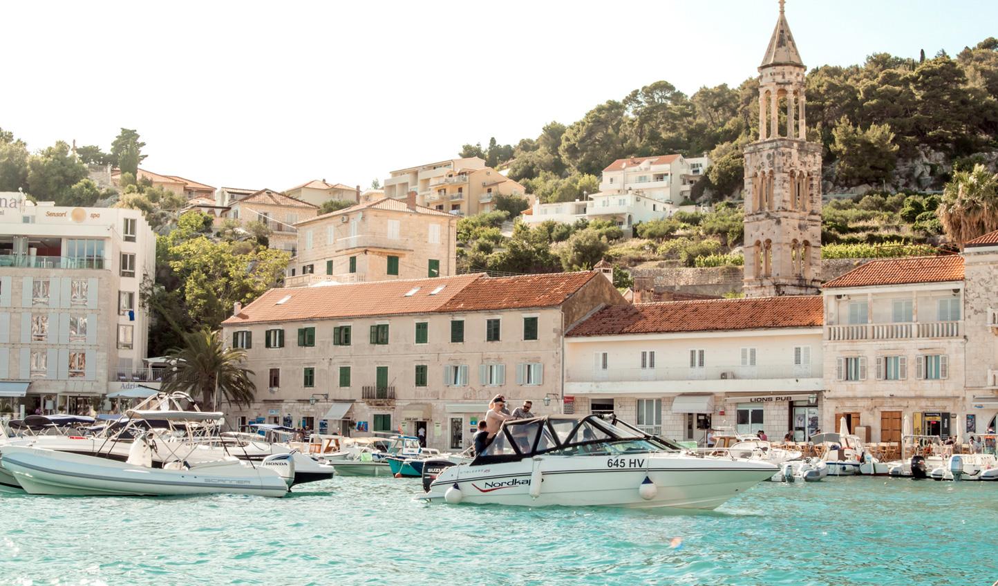 Sail into your next port of call: Hvar