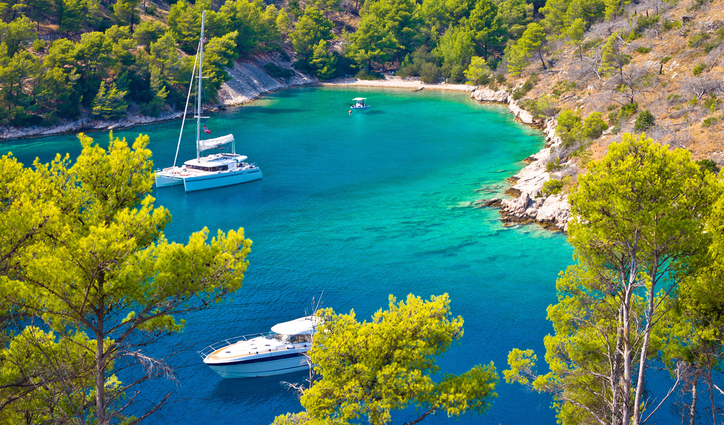 Discover hidden coves, perfect for a swim away from the crowds