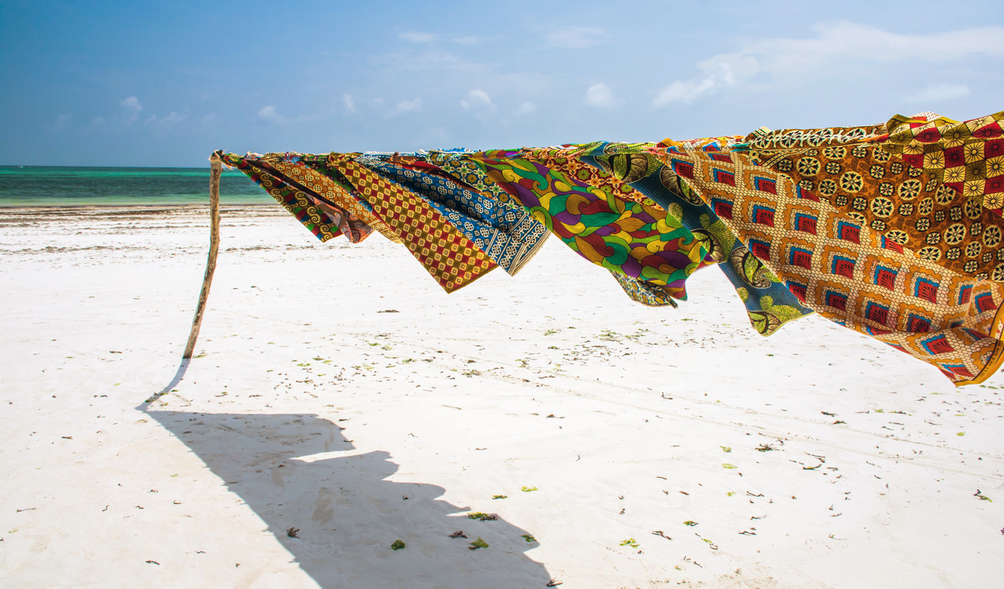 Stroll the length of Diani Beach and soak up local culture