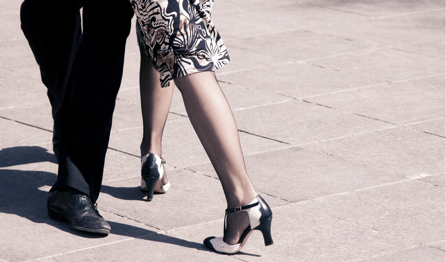 Catch a tango show in La Boca
