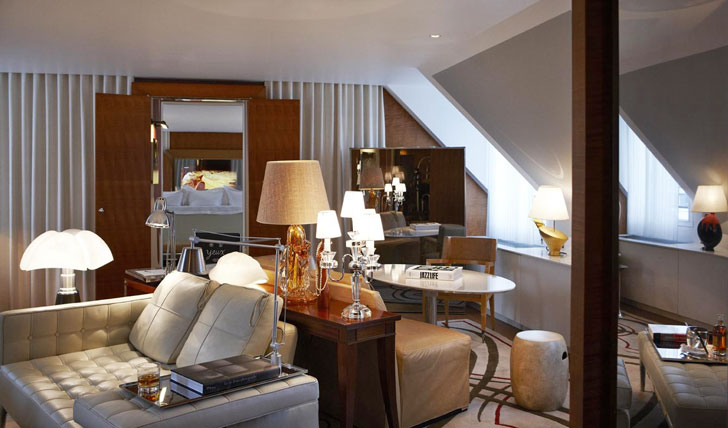 Sleep in style at The Royal Monceau Paris