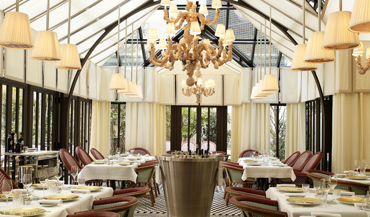 Dine in style at the Royal Monceau Raffles Paris