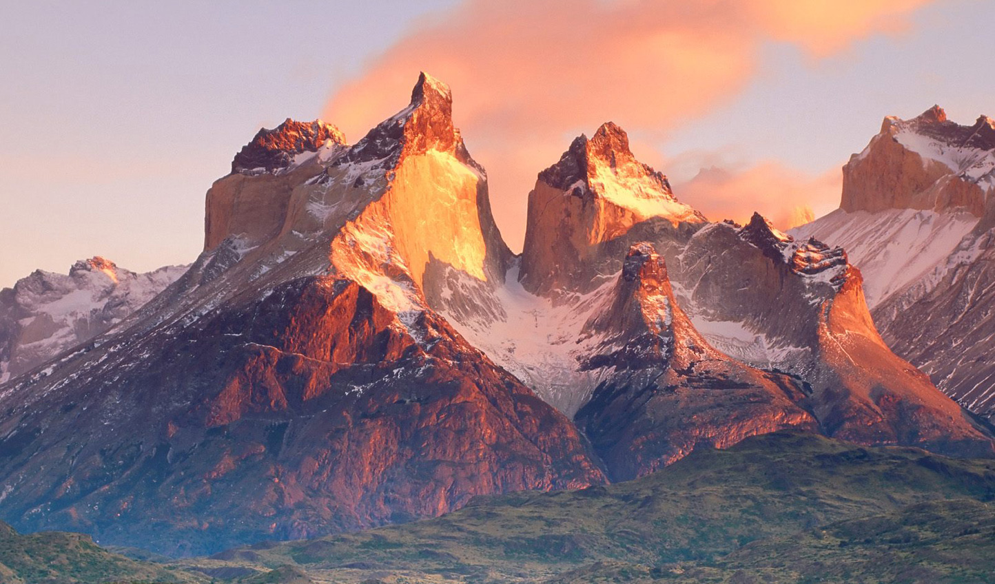 Take a moment to admire the view as the sun sets on Torres del Paine and your Patagonian adventure