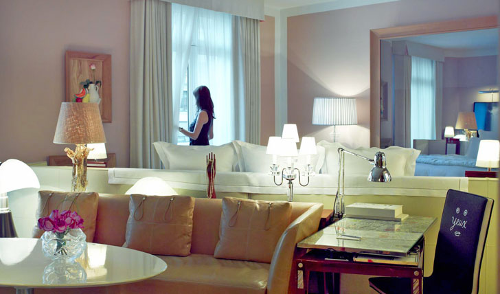 Sleep in style at the luxurious Royal Monceau Paris
