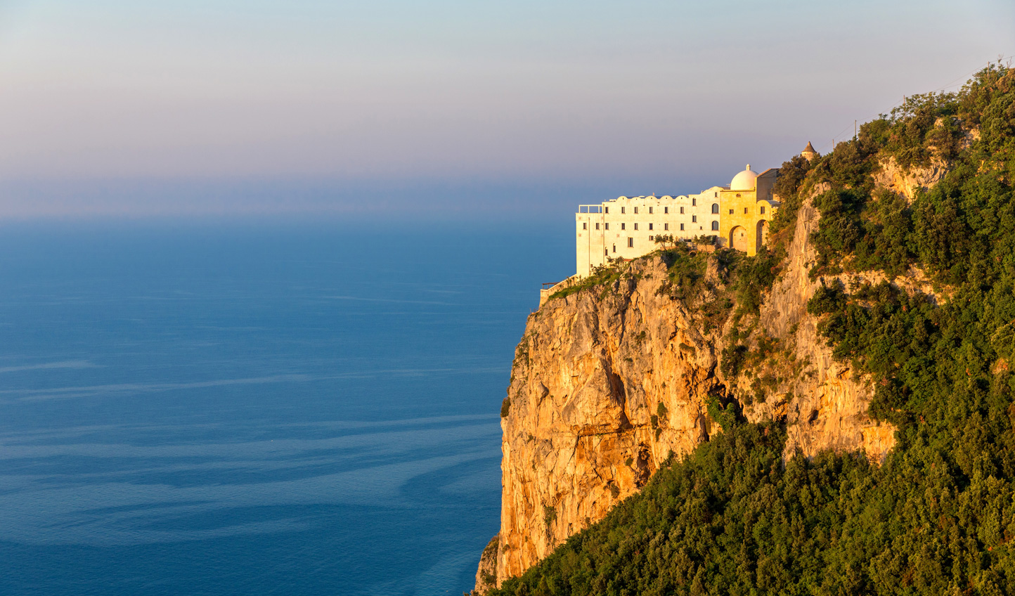Hole up in total luxury at Monastero Santa Rosa