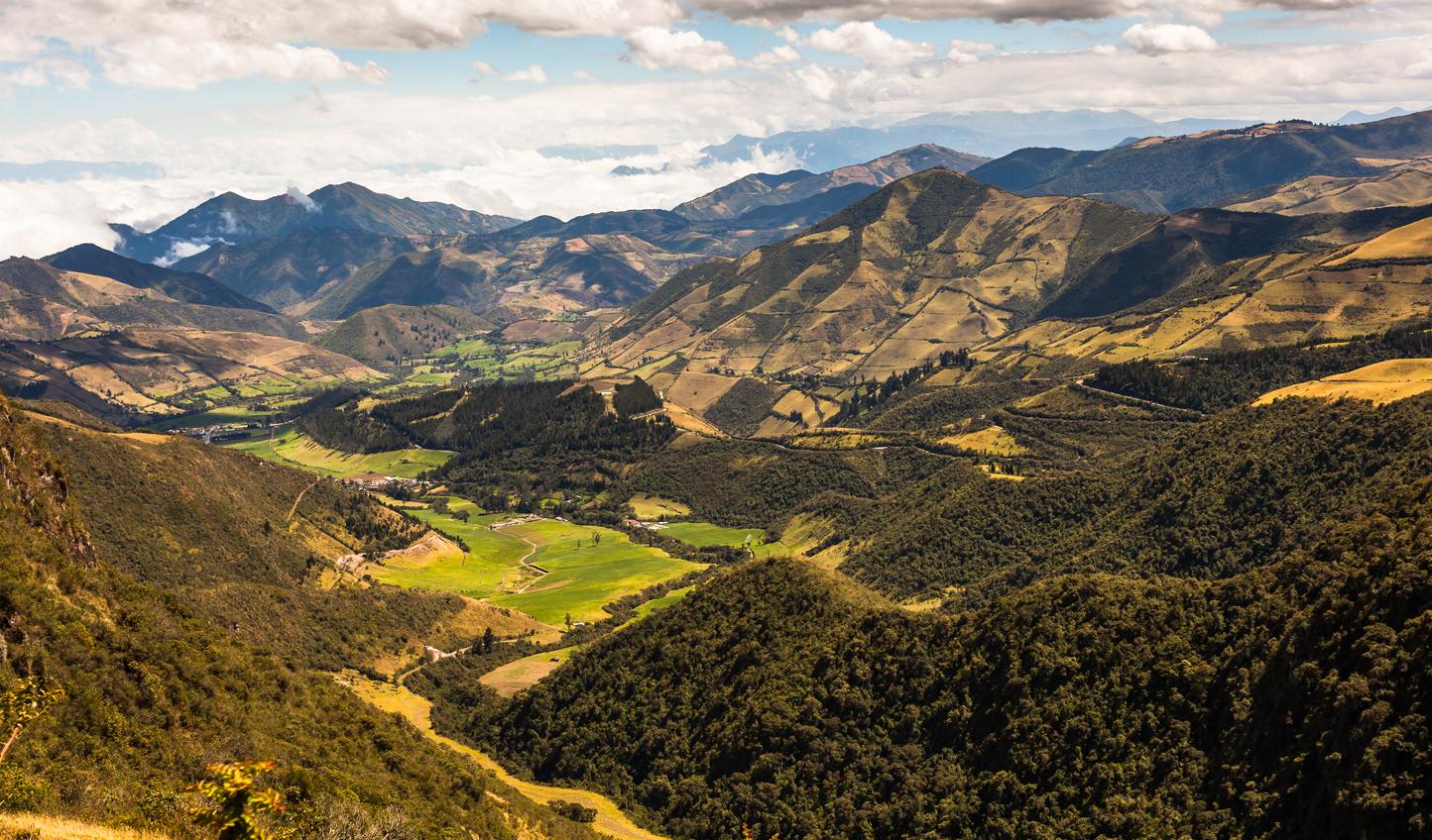 The surrounding scenery will hiking the Pichincha Volcano
