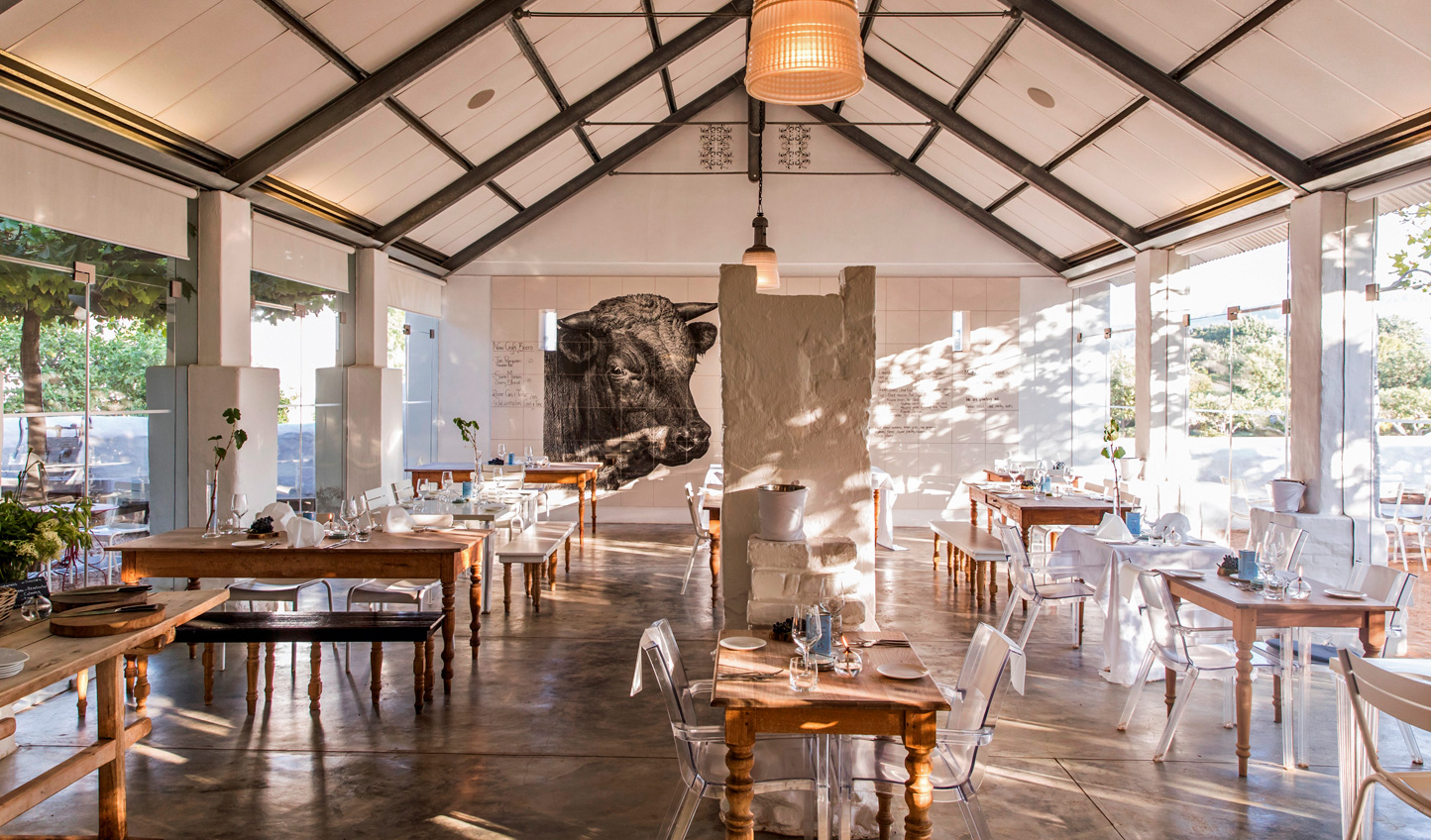 Sample South African cuisine at Babylonstoren
