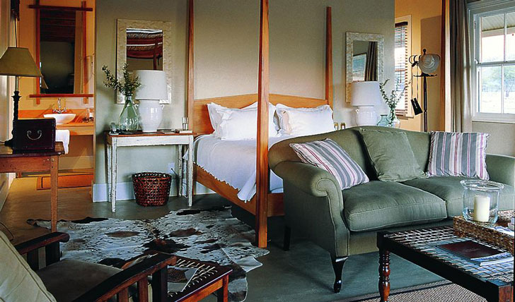 The bedroom at Samara Private Game Reserve