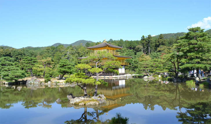 Take in the serenity of Japan