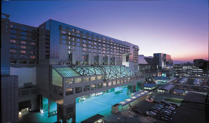 Luxury hotel, Granvia Kyoto