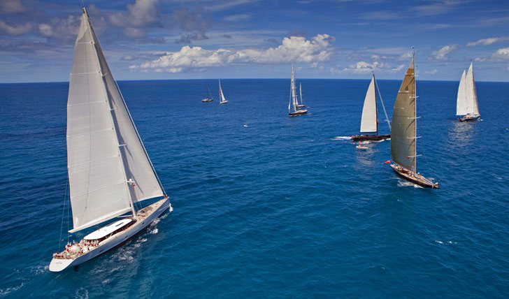 Luxury sailing holidays in the BVIs