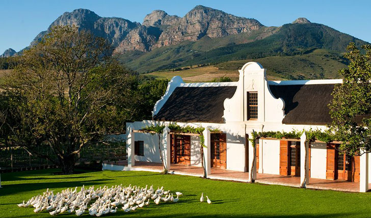 Manor House at Babylonstoren South Africa | Black Tomato