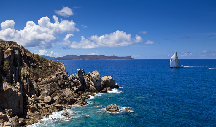 Luxury sailing holidays in the BVI