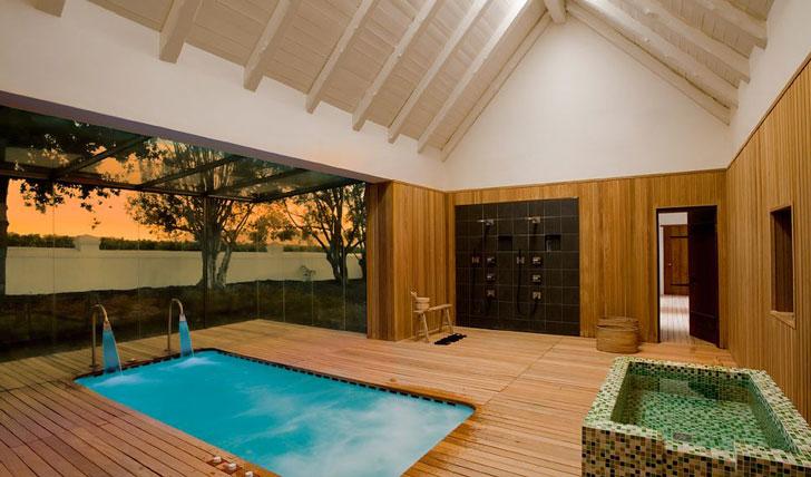 Sauna and Spa, Babylonstoren South Africa | Black Tomato