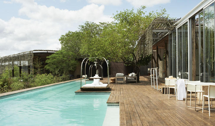 Singita Lebombo pool