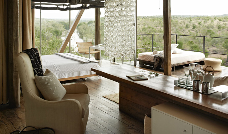 Singita Lebombo view from your room