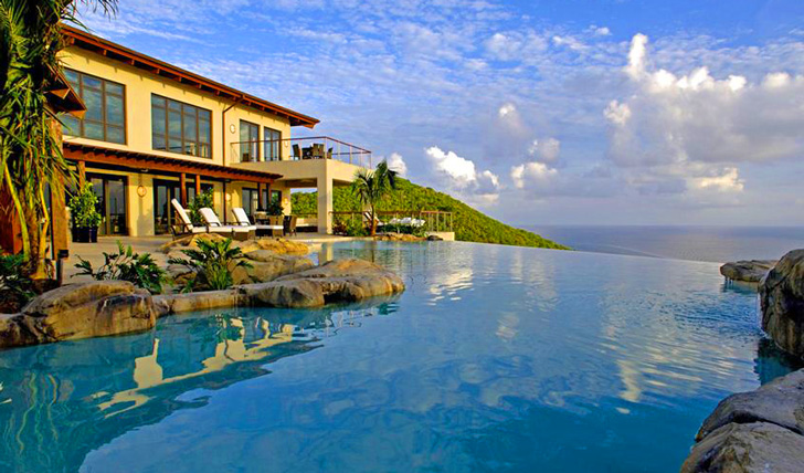 Luxury resorts in the British Virgin Islands