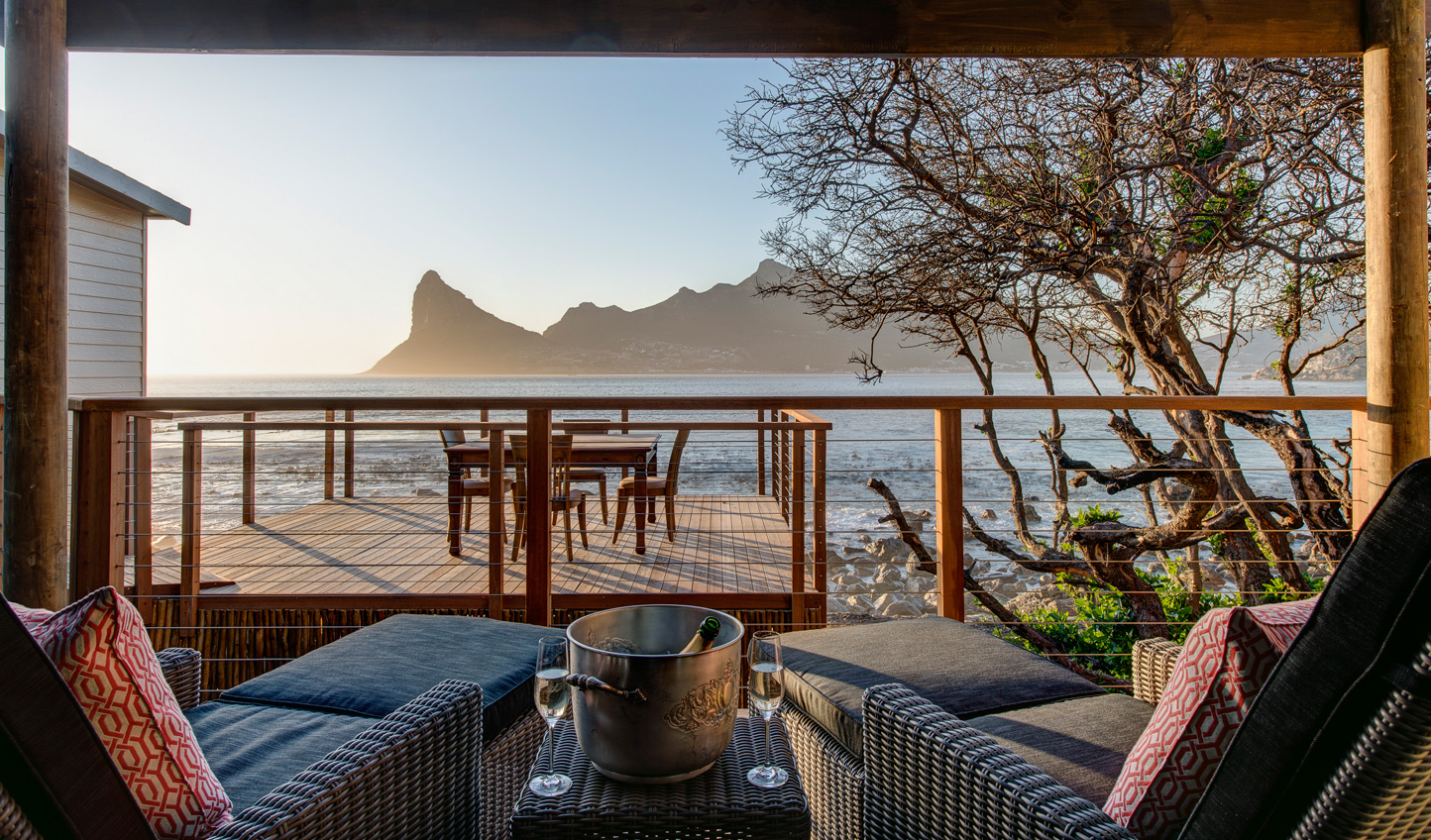 Soak up fabulous views from your suite at Tintswalo Atlantic