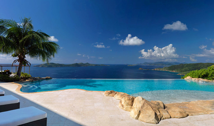 Luxury holiday resorts in the BVIs