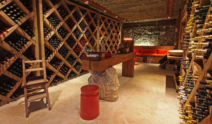 North Island, Seychelles, Wine cellar