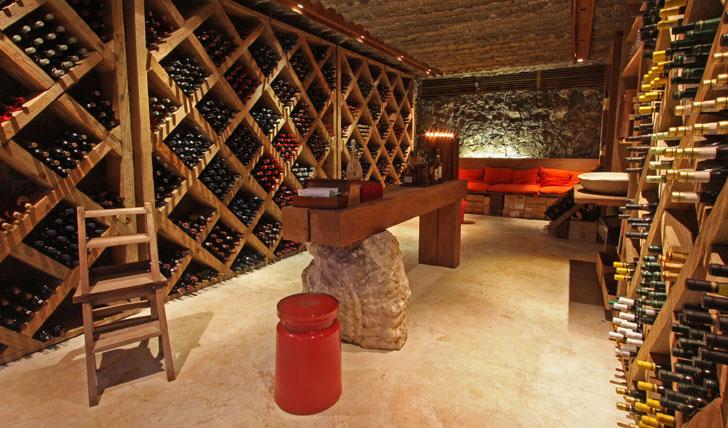 Delve into the Island wine cellar