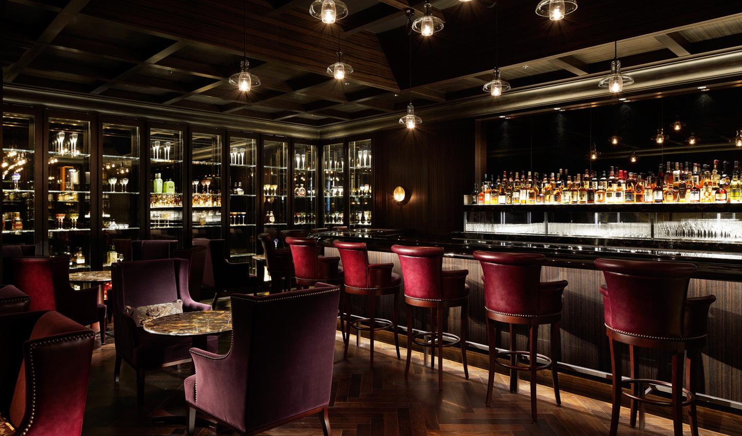 The plush velvet Royal Bar