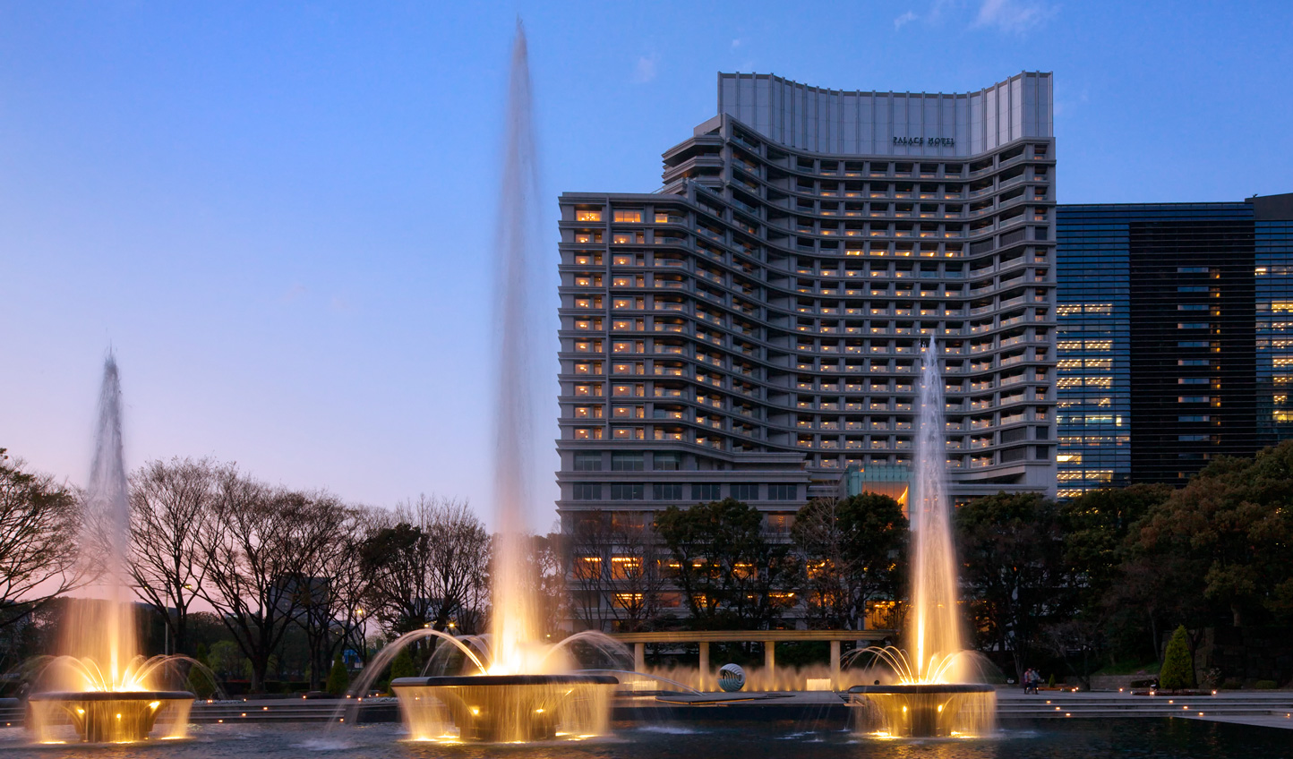 Welcome to one of Japan's finest hotels, Palace Hotel