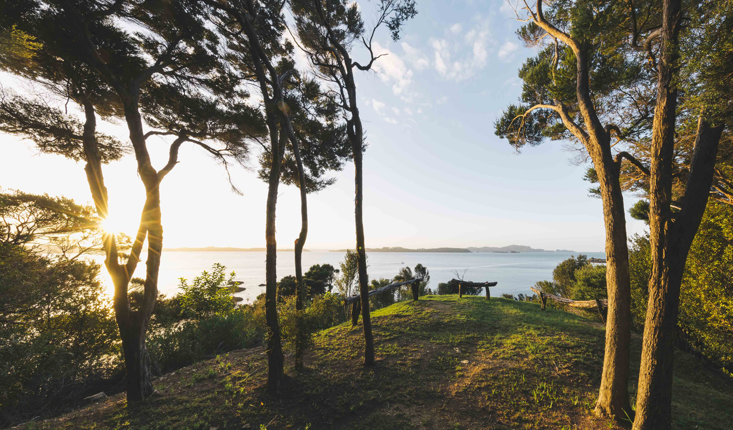 Discover secluded spots with romantic views