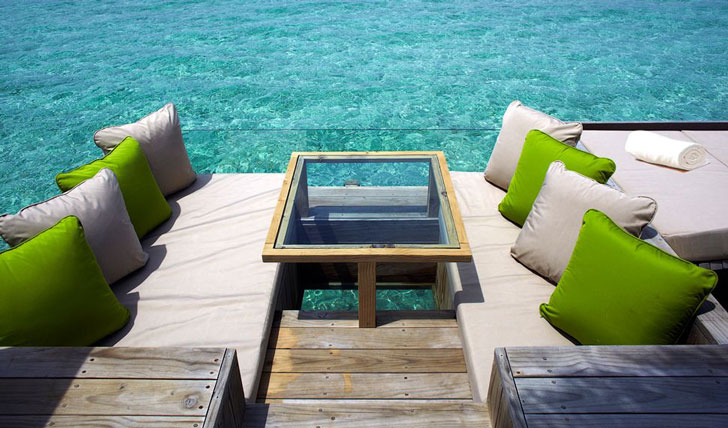 Lunch Time Spot, Six Senses Laamu