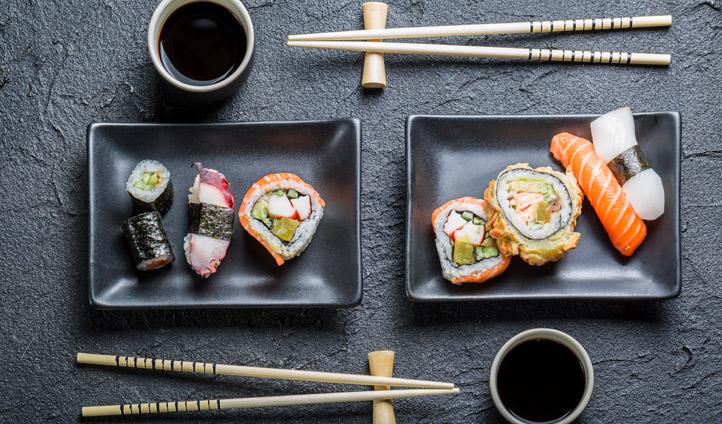 Take a class in sushi making