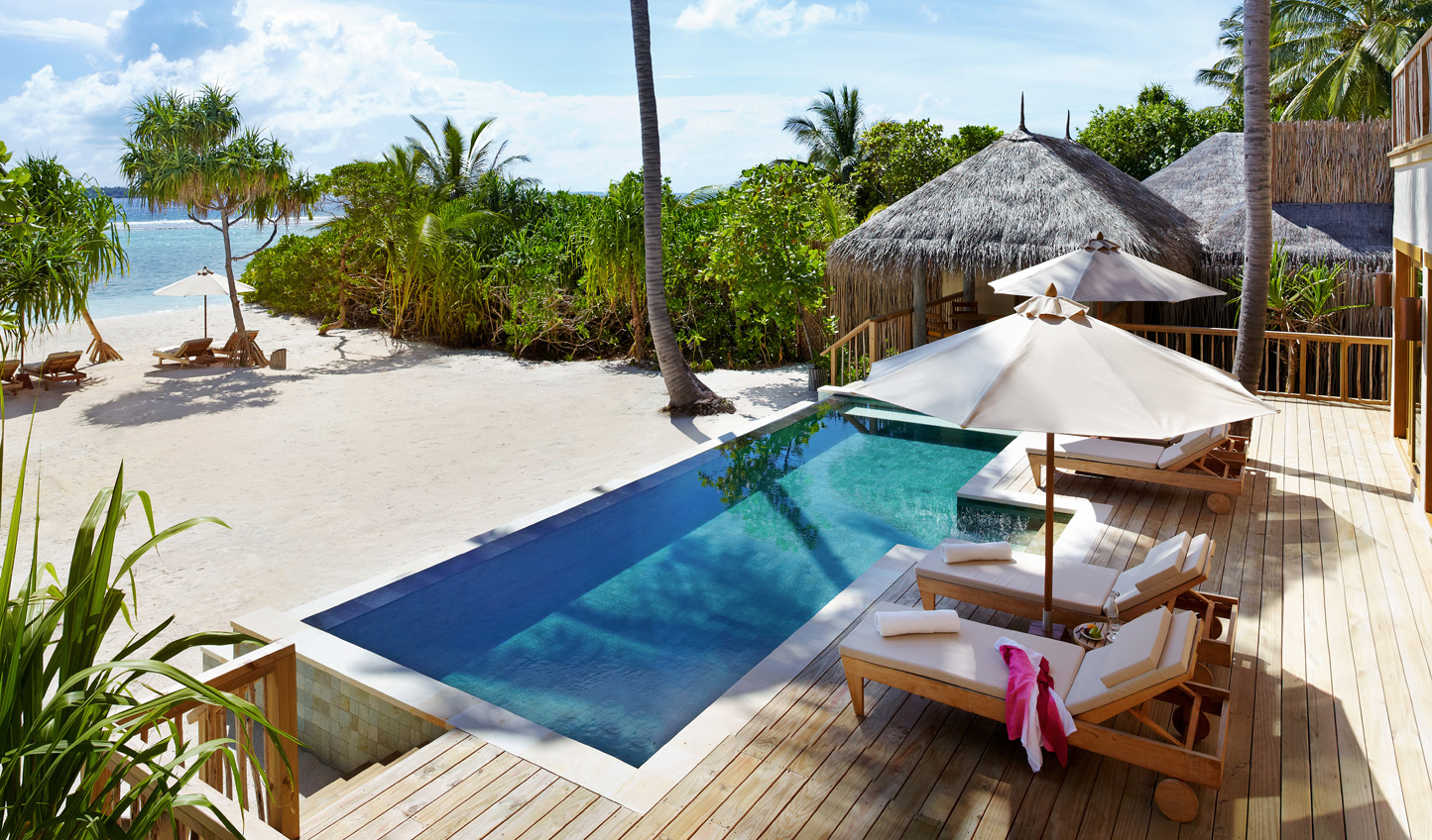 Step straight from the pool into the Ocean without leaving the comfort of your villa