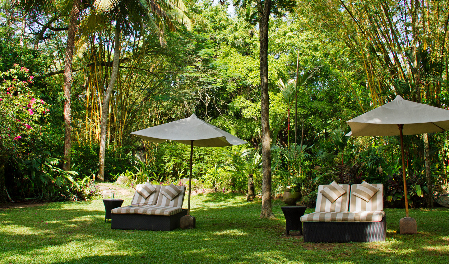 Unwind in the tropical gardens