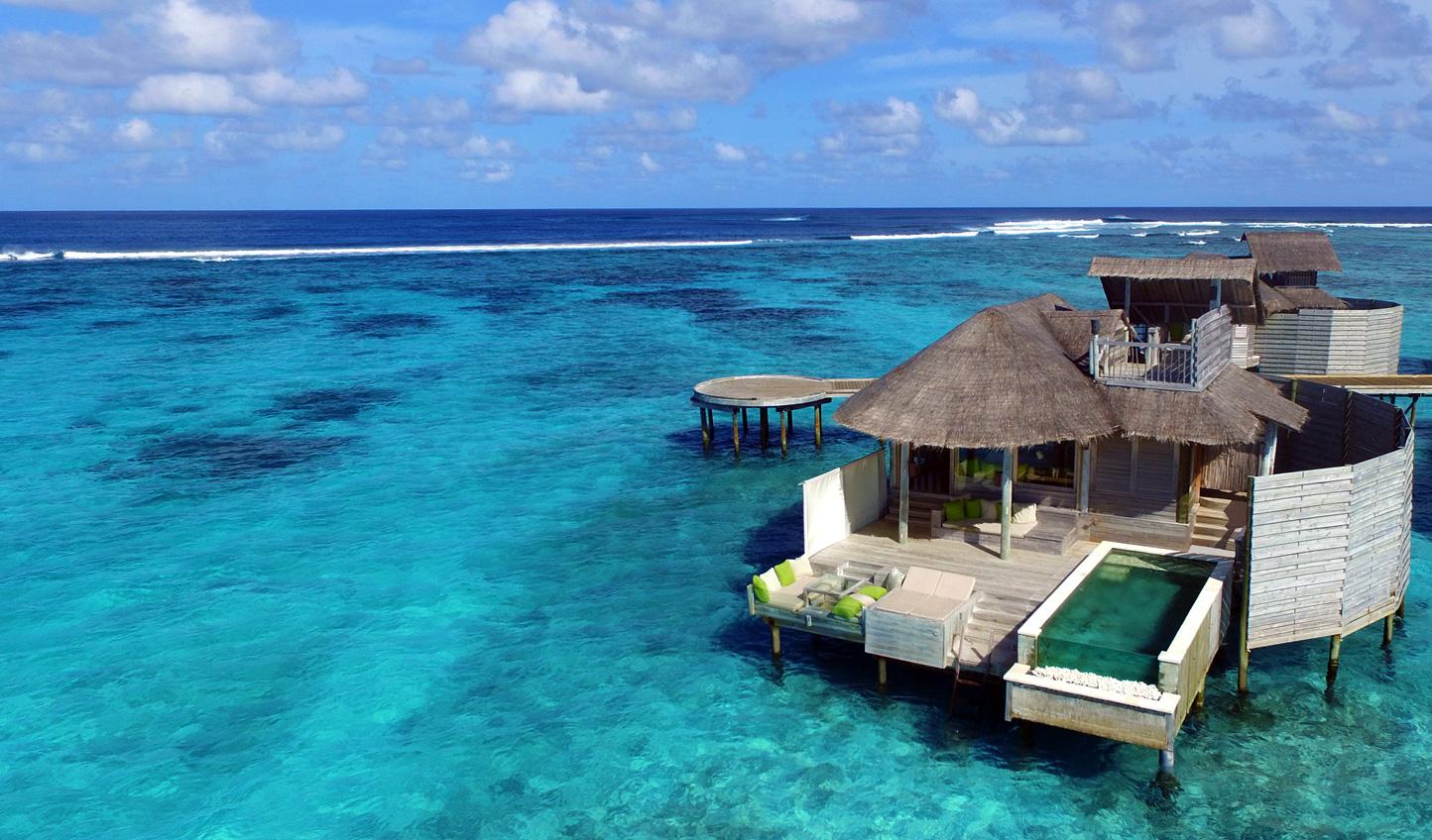 Paradise awaits at Six Senses Laamu