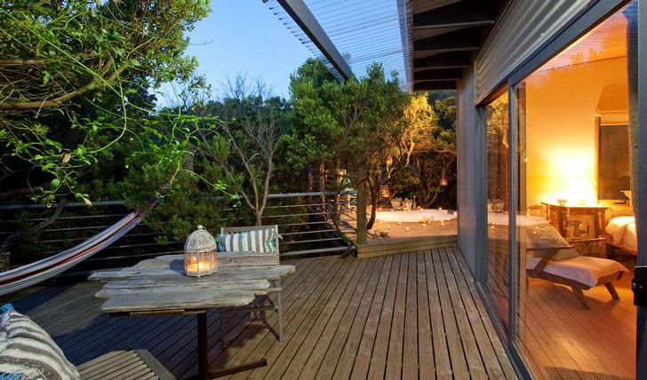 Your private deck | Big Blue Backyard, Victoria | Black Tomato
