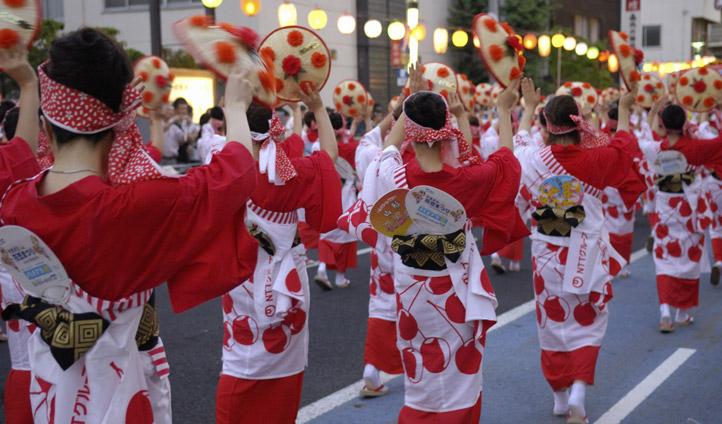 Dance festival japan