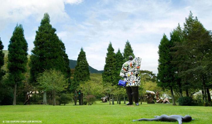 Soak up some open-air art in Hakone