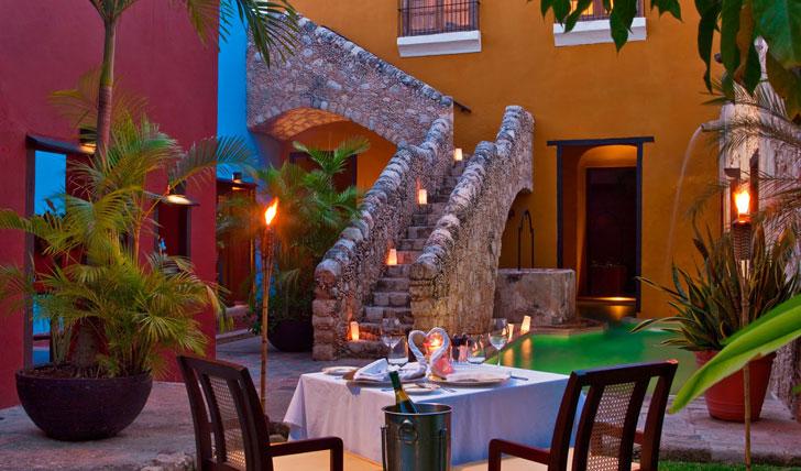 Hacienda Puerta Campeche dinner