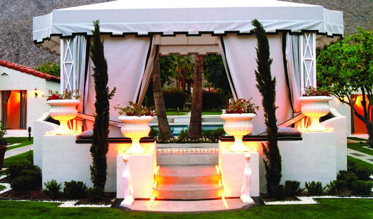 Your private cabana, at the Viceroy