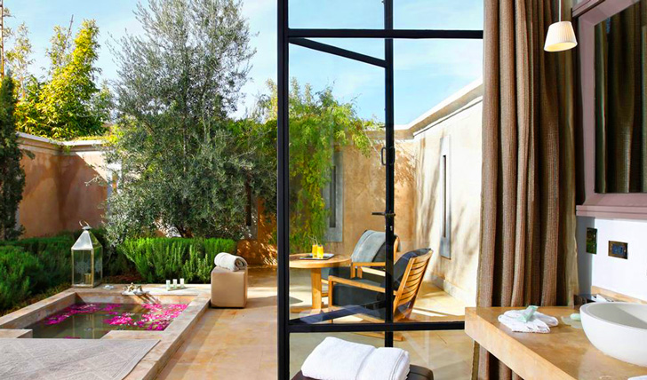 Luxury suite at Palais Namaskar hotel, Marrakech | Black Tomato