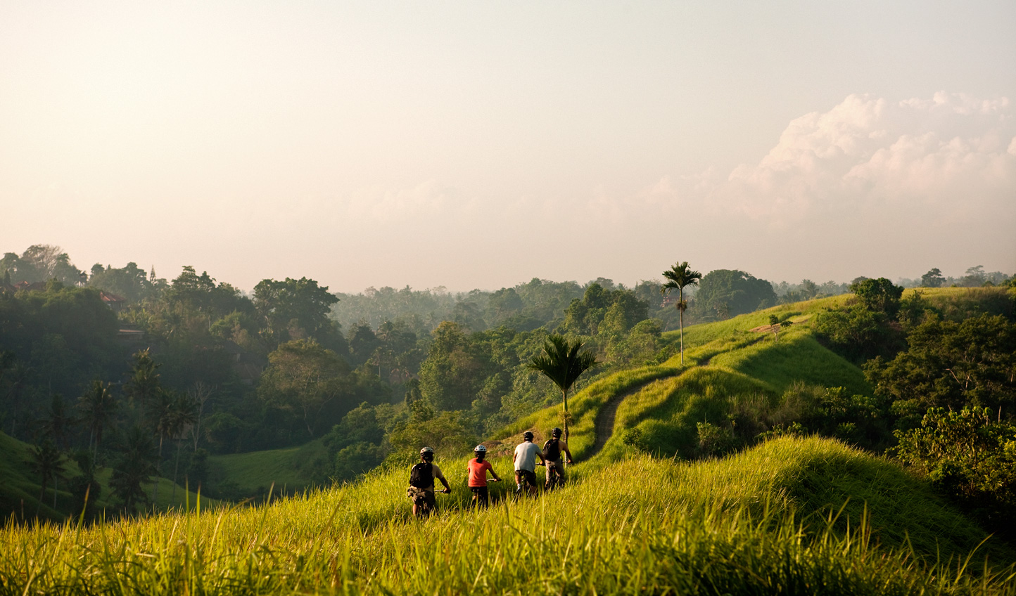 See Ubud by bicycle