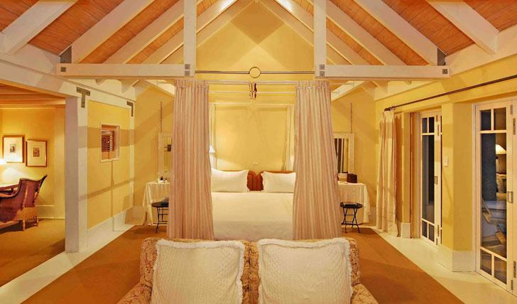 Wharekauhau Lodge Cottage bedroom