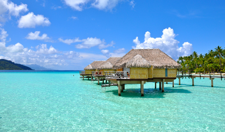 Your overwater bungalow, Le Taha'a