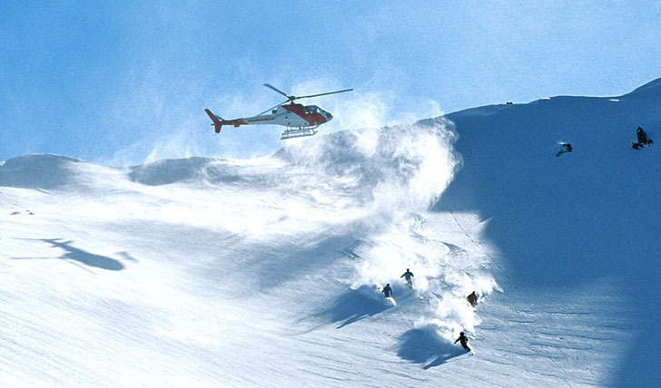 Heli-skiing New Zealand