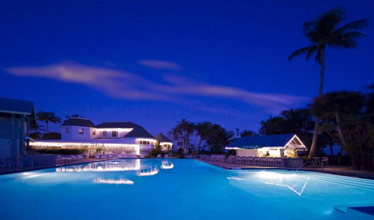 Casa Ybel at night