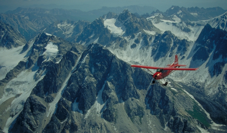 Get the best view with a quintessentially Alaskan activity