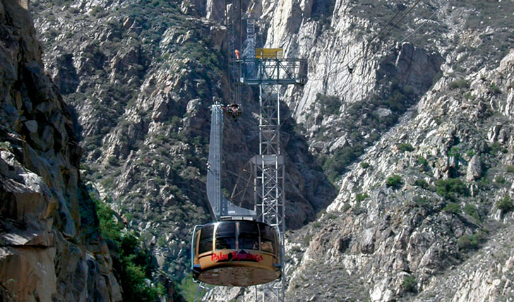 Aerial Tram | Palm Springs | Black Tomato